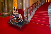 Универсальный наклонный подъёмник для инвалидов